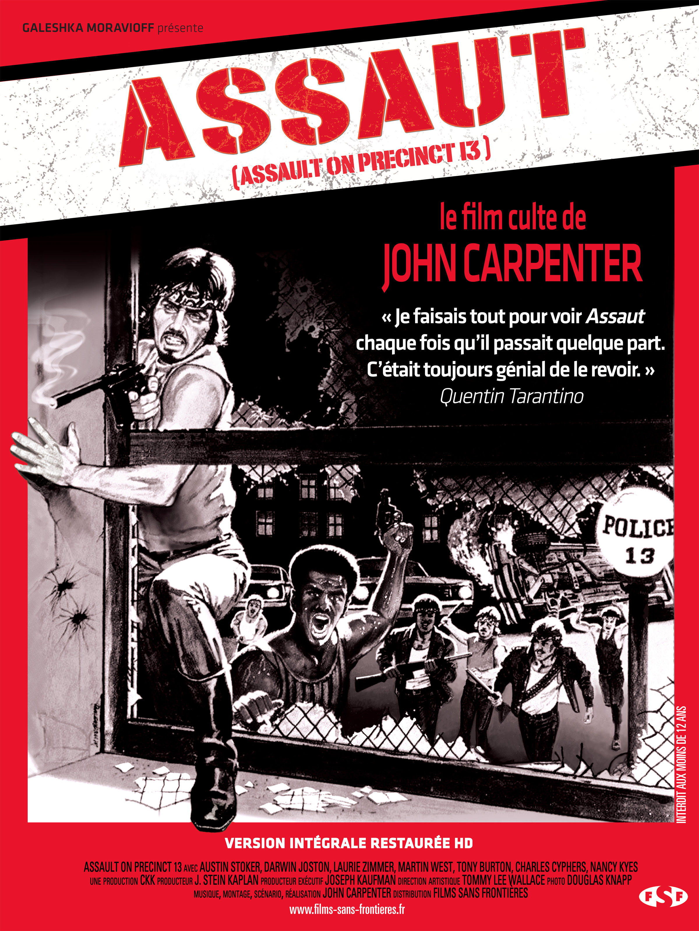 ASSAUT - film de Carpenter